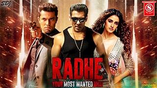 Radhe Your Most Wanted Bhai Full Movie