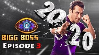 Bigg Boss Season 14 Episode 3