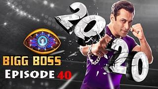 Bigg Boss Season 14 Episode 40