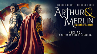 Arthur and Merlin Knights of Camelot